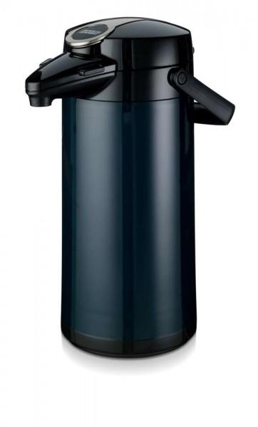 Airpot Furento mit Glaseinsatz Blau - 2,2 Liter