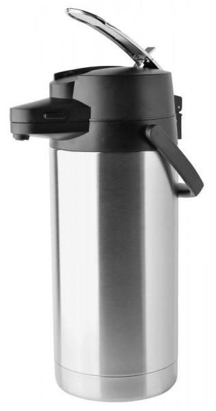 Helios 8259 - Pumpkanne Coffeestation - 3,5 l - Edelstahl