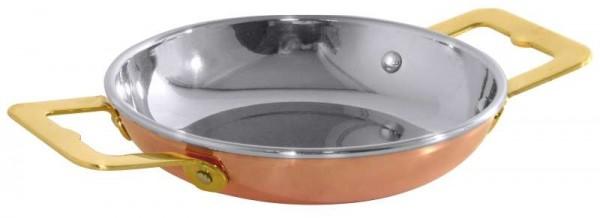 Contacto 8766/120 - Paellapfanne aus Kupfer/Edelstahl