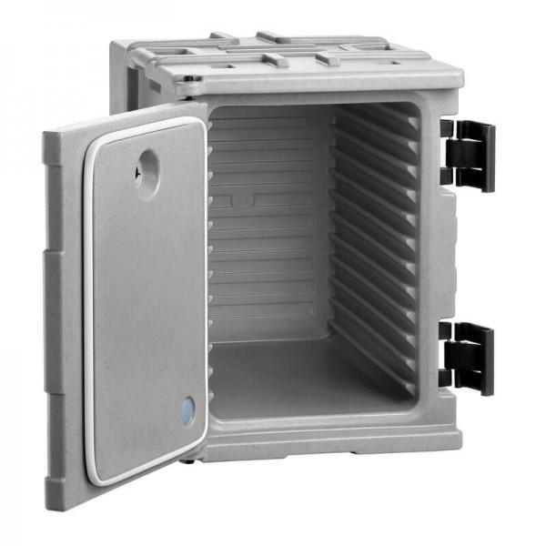 Bartscher 300104 - Thermo-Transportbehälter 12 x 1/1 GN - geöffnet