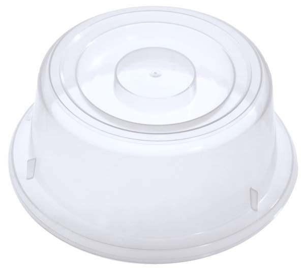Contacto 6443/210 - Tellerglocke,transparent-weiss Polypropylen für Teller 21 cm, hohe Form