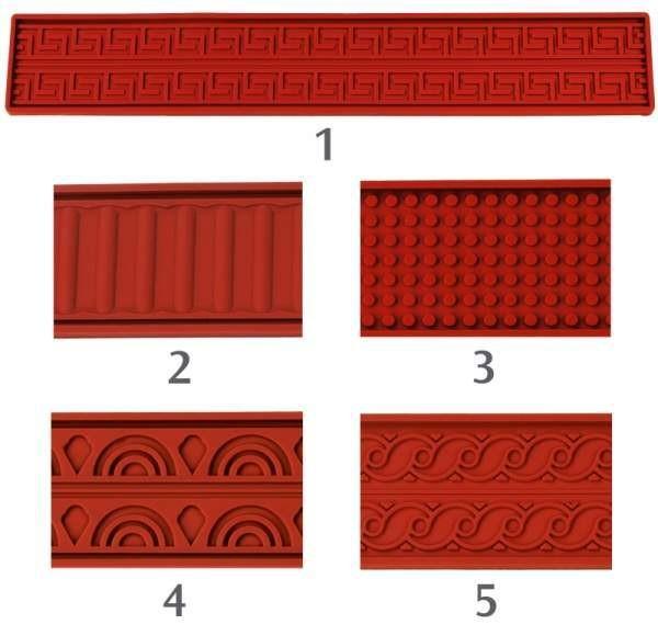 Contacto 6680/403 - Reliefmatte 60x40cm Kugeln