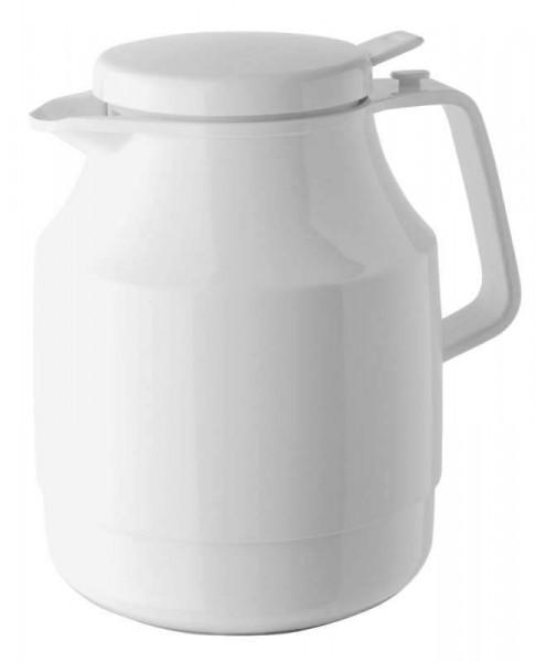 Helios 3155-001 - Isolierkanne Tea Boy Push - 1,3 l - Weiß