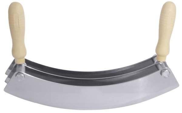 Contacto 734/333 - Wiegemesser dreischneidig aus rostfreiem Stahl