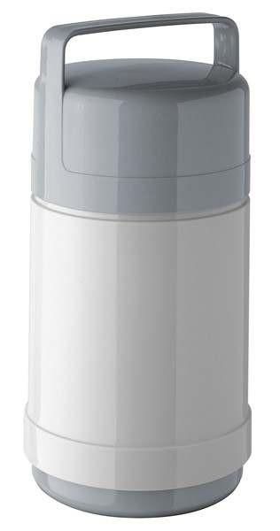Helios 1934-047 - Speisegefäß Picnic mit zusätzlichem Portionseinsatz - 1,0 l - Grau